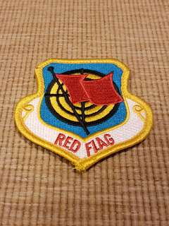 Ex Red Flag Patch