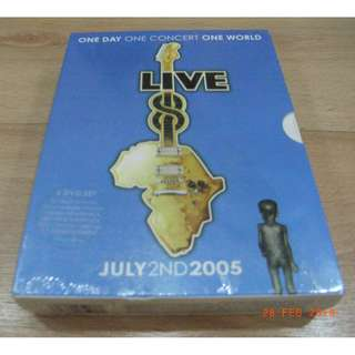 ONE DAY ONE CONCERT ONE WORLD LIVE GUITAR (4DVD SET)NEW