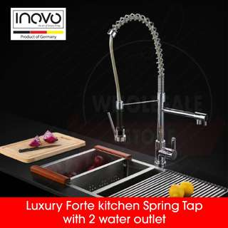INOVO® Luxury Forte Kitchen tap faucet, basin tap and toilet accessories
