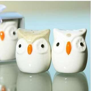 OWL-Always Love U salt and pepper shaker Seasoning pot new designs
