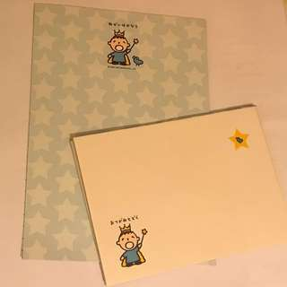 大口仔信紙套裝 Letter Set
