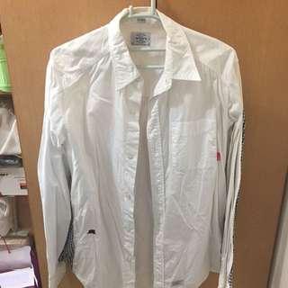 WTAPS shirt WTAPS白色恤衫