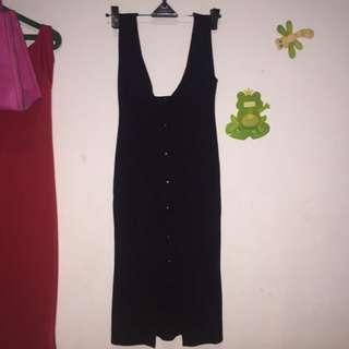 Bkk Button Dress