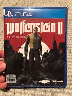 PS4 Wolfenstein 2 New Colossus