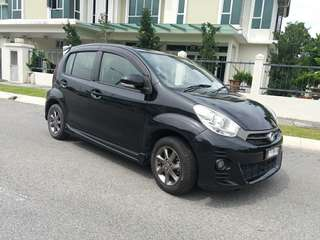 Perodua Myvi 1.5 Special Edition with upgraded touch screen panel