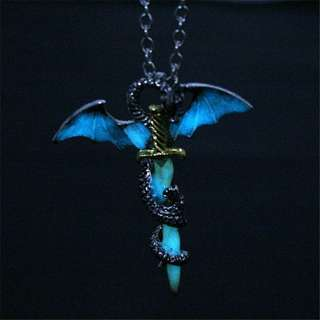 Glow in the dark Game of Thrones necklace