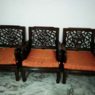 3 units Antique Chairs