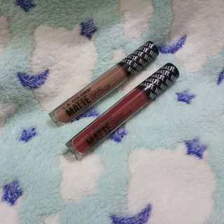 Authentic LA COLORS Matte liquid lip color