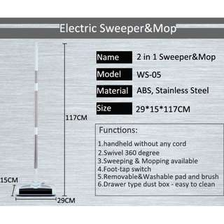Cheap Electric Cordless Sweeper WS-05