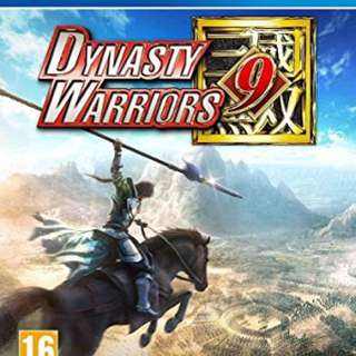 Dynasty warrior 9 ps4 r3 english