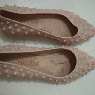 Jelly Shoes Soft Pink