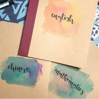 Calligraphy Notebooks