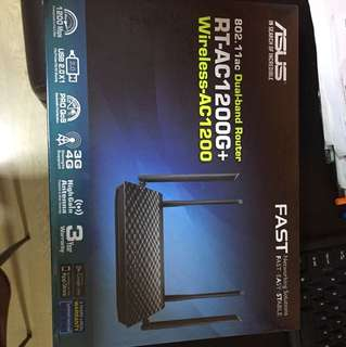 BNIB Asus Dual Band Router