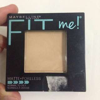 Maybeline Fit me! Matte+poreless
