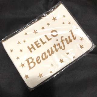 Brand New Canvas Pouch