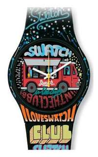 Swatch special street club watch [limited edition]