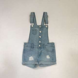 H&M girls' denim jumper 4-5Y