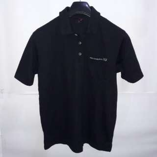 New Balance Pocket Polo Shirt Black