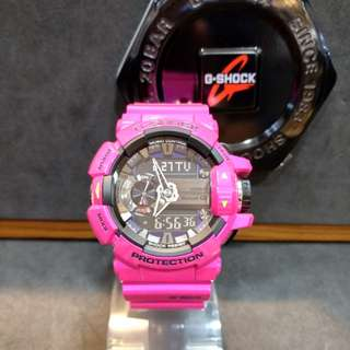 * FREE DELIVERY * Brand New 100% Authentic Casio GShock GMix Hyper Pink G Shock Bluetooth Watch G-Shock GBA400 4C GBA400-4CDR