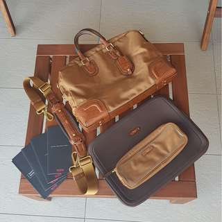 REDUCED - Rare Ltd Ed Tumi laptop bag set