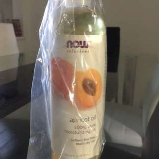 NOW 100% pure Apricot oil