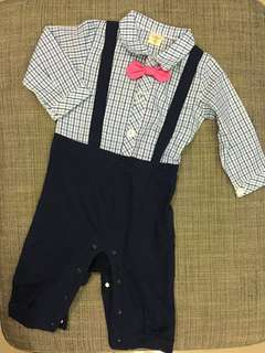Smart Boy Suit Romper (BRAND NEW)