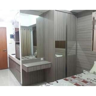 Unit studio full furnish bisa untuk transit 3JAm/6JAm atau harian