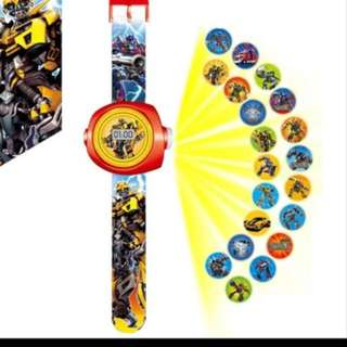💥 Transformers party suppliers - kids projector watch / party gifts / goodie bag gifts