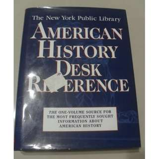 American History Reference / Encyclopedia