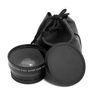 Wide angle macro lens for kit lens canon