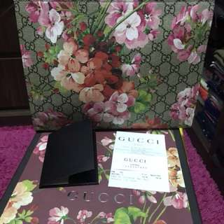 Gucci blooms cosmetic pouch