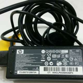 original hp laptop charger 18.5v..3.5A good condition only $15