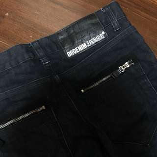Dr Denim Snap Waxed Jeans