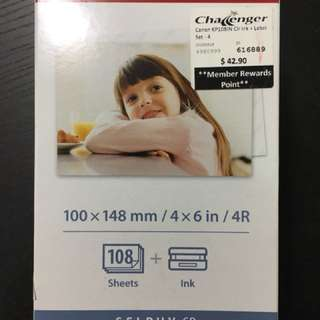 Canon Selphy Photo Paper