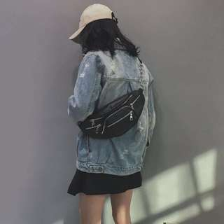Po: Edgy Fanny pack bag