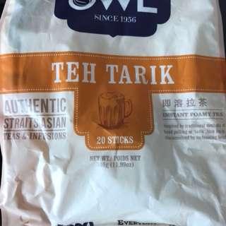 拉茶(Owl teh tarik)