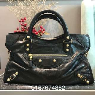 Balenciaga Giant 12 Gold City Black