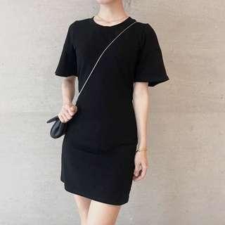 Black slim fit Dress