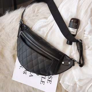 Po: Quilted fanny pack