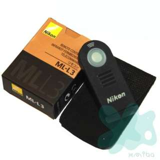 Wireless IR Remote Control ML-L3  for Nikon Cameras