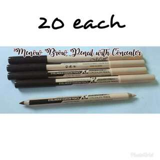 brow pencil with concealer