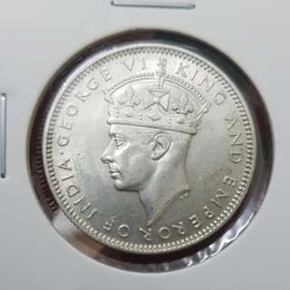 1943 20 cents (.500 silver)