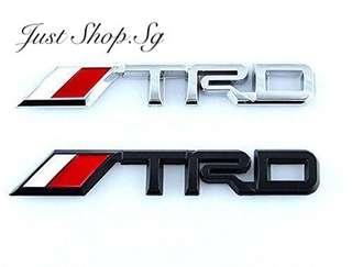 TRD Rear Emblem ( 14.3cm X 2cm)