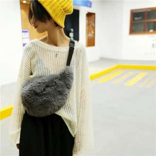 Po: Furry Fanny pack