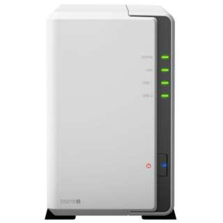 Synology DS218j - 2-bay DiskStation, Dual Core 1.3 GHz , 512MB RAM