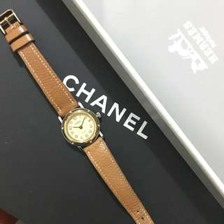 Authentic Hermes ladies Watch vintage NOT Chanel Dior Longines Cartier Tiffany Gucci