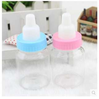 PROMO Mini Milk Bottle for Baby Shower Party Door Gift Favors