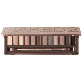 NEW Authentic Naked 2 Palette