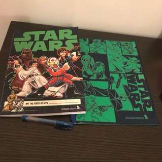 🌟Star Wars Stationery Kit Set from Singapore Airlines SQ