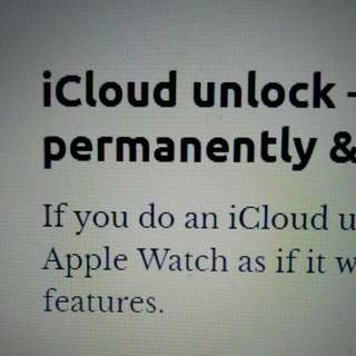 Unlock iCloud and Bypass Activation Lock Service